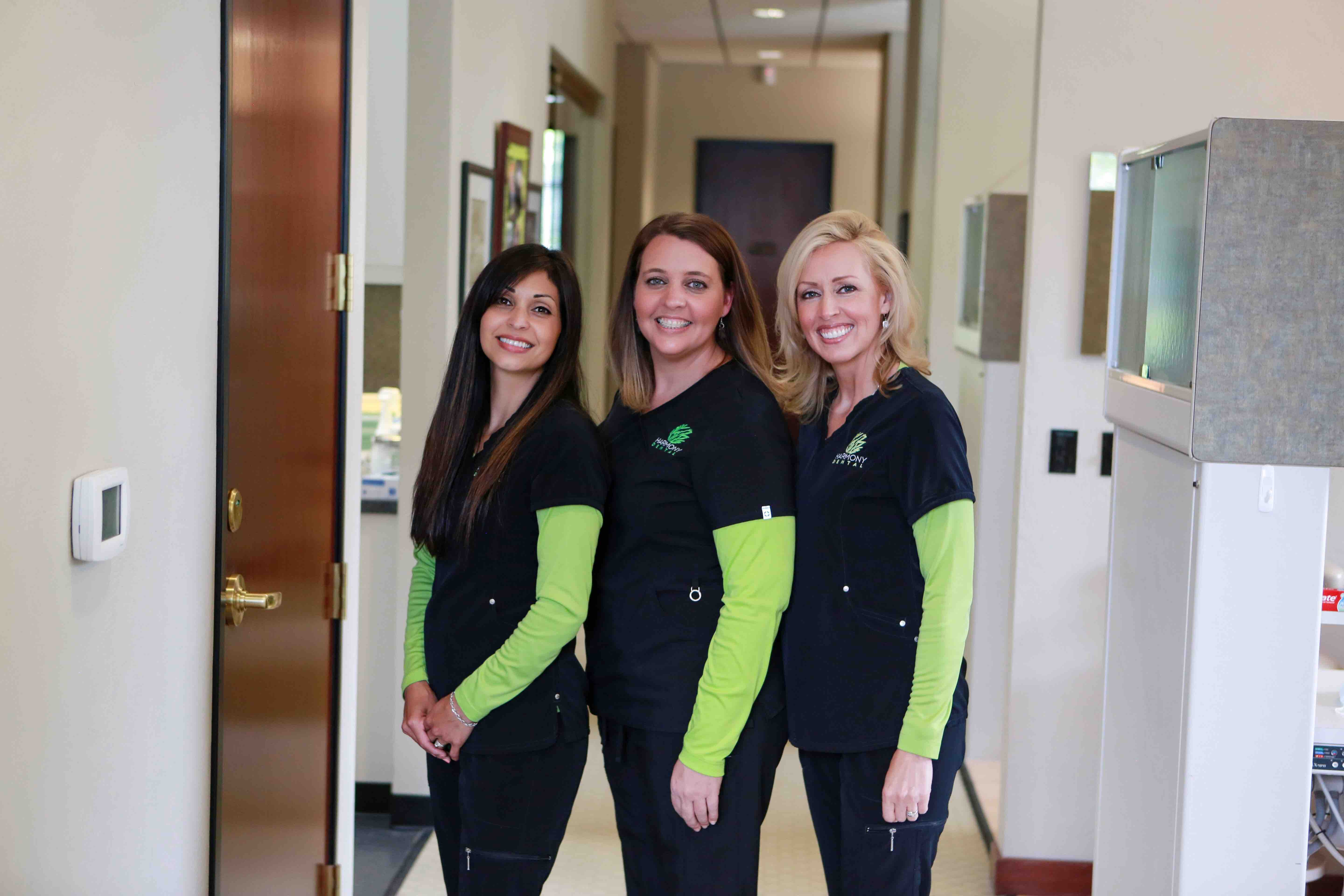 Staff at Harmony Dental